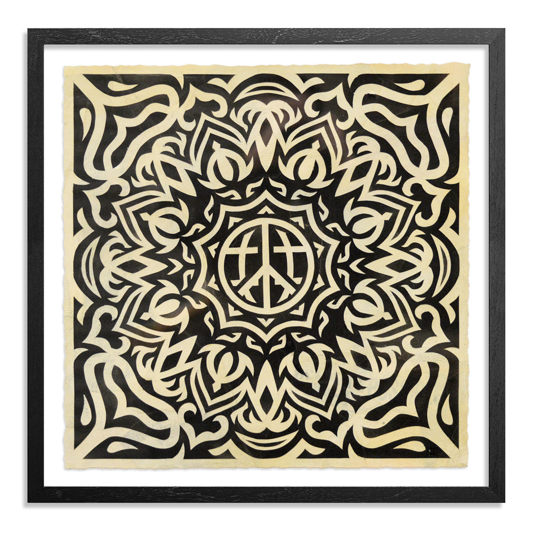Thomas Wimberly Original Art - Original Artwork - Levitate (Mandala)