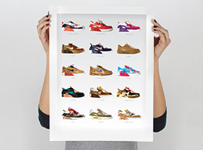 Art Print by Smoluk - Air Max 90s - Limited Edition Prints