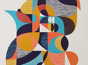 Art Print by Jessie & Katey - Now That's What I Call A Screen Print - Volume I