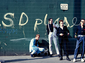 Art Print by Tim Page - The Clash - Under The Westway Overpass, Notting Hill, London UK, 1982 - Blotter Variant