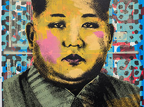 Art Print by Cash For Your Warhol - Monoprint III - CFYW Kim Jong-un
