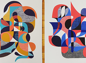 Art Print by Jessie & Katey - 2-Print Set - Now That's What I Call A Screen Print - Volume I & II