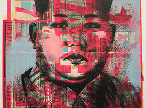 Art Print by Cash For Your Warhol - Monoprint IV - CFYW Kim Jong-un