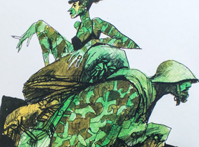 Book by Swallow Presents: Sparrow - #12 Sergio Toppi