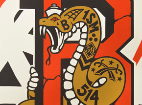 Original Art by 123Klan - New Wild Order, Snake - Original Artwork