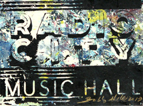 Art by Bobby Hill - Radio City Music Hall