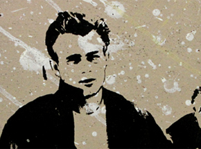 Art by Bobby Hill - James Dean (Small)