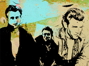 Art by Bobby Hill - James Dean (Large)