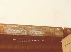 Original Art by Cope2 - 80s Subway Series - 6 - Archival Print