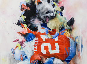 Art Print by Joram Roukes - First Down