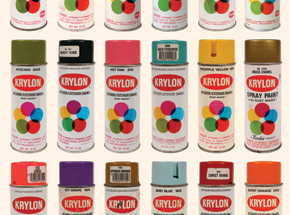 Art Print by Roger Gastman - Tools of Criminal Mischief : The Cans IV - Krylon Edition