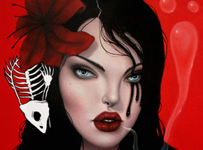 Original Art by Sarah Joncas - Magdalena - Original Painting