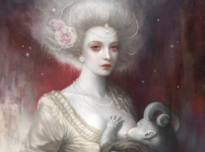 Art Print by Tom Bagshaw - Lullaby