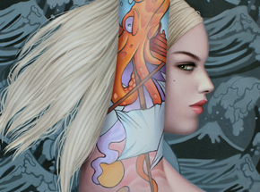 Art Print by Sarah Joncas - Genevieve - Limited Edition Prints
