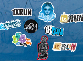 Art by 1xRUN Presents - 1xRUN Artists Sticker Pack 1