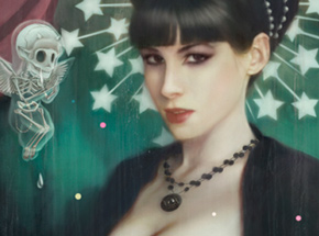 Art Print by Tom Bagshaw - All The Devils