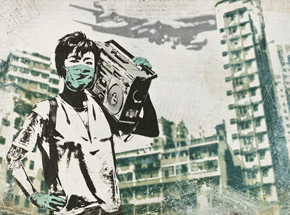 Art Print by Eddie Colla - Air Kowloon - Limited Edition Prints