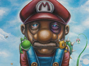 Art Print by Jordan Mendenhall - Mushroom Kingdom - Limited Edition Prints
