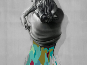 Art Print by Johnny Robles - Detached Woman