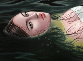 Art Print by Sarah Joncas - Ophelia - Limited Edition Prints