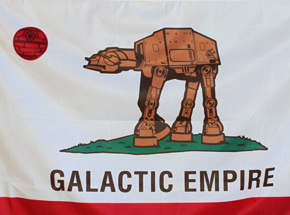 Art by Sket One - Galactic Empire - Flag Edition