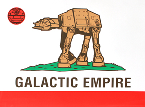 Art by Sket One - Galactic Empire - Print Edition