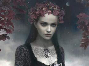 Art Print by Tom Bagshaw - Falls Grace