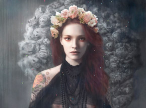 Art Print by Tom Bagshaw - Pandora