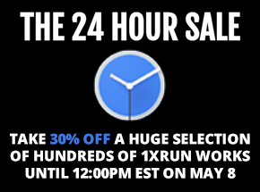 Art by 1xRUN Presents - The 24 Hour Sale