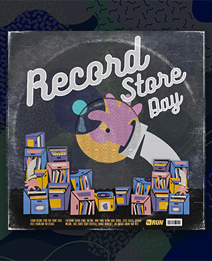 Art by 1xRUN Presents - 1xRUN's Record Store Day 2019