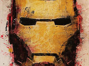Art Print by Bask - Iron Man 3 - Box Office Edition Limited Print