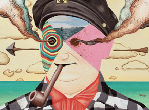 Art Print by Aaron Glasson - The Harbormaster - Limited Edition Prints