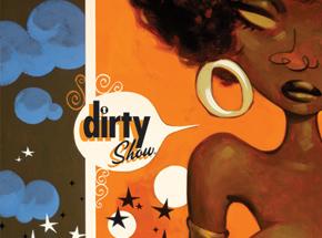 Art Print by Glenn Barr - Dirty Show - SIGNED POSTER