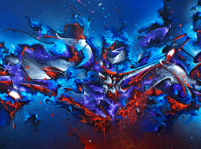 Original Art by Does - Skyfall - Original Painting