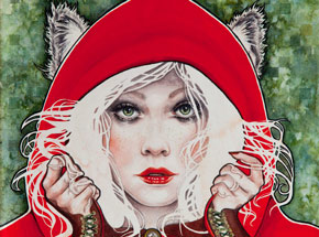Original Art by Kelly McKernan - Zoetic