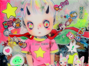 Original Art by Hikari Shimoda - Mars Attacks - Original Artwork