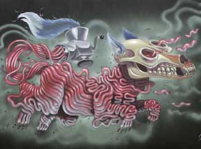 Original Art by Nychos - Fleishwolf - Original Painting