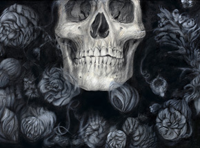 Original Art by Sergio Barrale - Ghost Flowers - Original Artwork