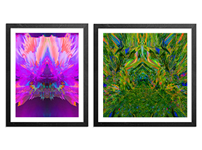 Art Print by Ryan Doyle - 2-Print Set - #purplereign + #templeofboom