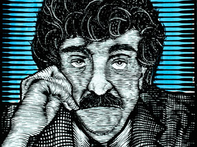 Art Print by Zeb Love - Vonnegut