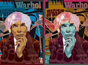 Art Print by Abcnt - 2-Print Set - This Means War-Hol