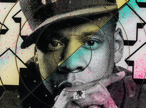 Art Print by Tavar Zawacki aka Above - Cut The Record - Jay-Z - Limited Edition Prints