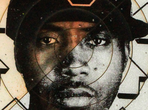 Art by Tavar Zawacki aka Above - Cut The Record - Nas #1 - Hand-Painted Multiple