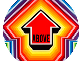 Art Print by Tavar Zawacki aka Above - Rainbow Pulse