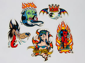 Art by Alan Forbes - Alan Forbes - Sticker Pack