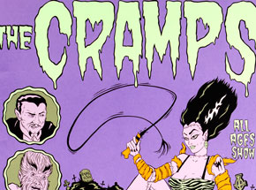 Art by Alan Forbes - The Cramps - October 27th, 1996 at The Glass House
