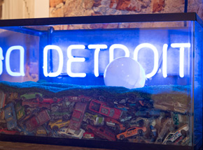 Original Art by John Law - Detroit