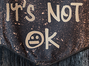 Original Art by Amy Fisher Price - It's Okay Not To Be Okay