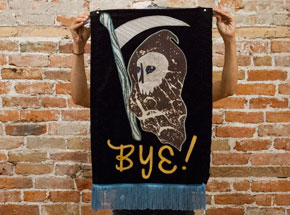 Original Art by Amy Small - - Bye! -