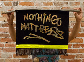 Original Art by Amy Small - Nothing Mattress